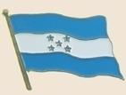 12 Pins - HONDURAS , flag hat lapel badge pin sp221