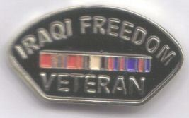 12 Pins - IRAQI FREEDOM VETERAN , war vet pin sp467