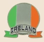 12 Pins - IRELAND EMBLEM , irish flag lapel pin sp117
