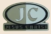 12 Pins - JC Jesus Christ religous hat lapel pin sp006