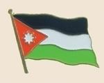 12 Pins - JORDAN , flag hat lapel badge pin sp232