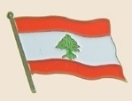 12 Pins - LEBANON , flag hat lapel badge pin sp234