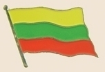 12 Pins - LITHUANIA , flag hat lapel badge pin sp236