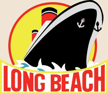 12 Pins - LONG BEACH CALIFORNIA w/ SHIP , pin sp014