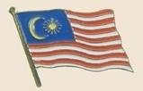 12 Pins - MALAYSIA , flag hat lapel badge pin sp237