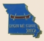 12 Pins - MISSOURI , state hat tac lapel pin sp349