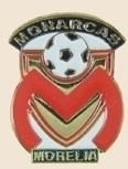 12 Pins - Monarcas Morelia w/ Soccer Ball , pin sp151