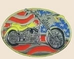 12 Pins - MOTORCYCLE AMERICAN FLAG EAGLE , us pin sp078