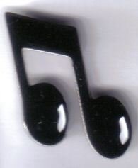 12 Pins - MUSIC NOTE , musical hat lapel pin sp489