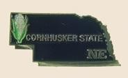 12 Pins - NEBRASKA , state hat tac lapel pin sp351 Bonanza