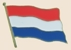 12 Pins - NETHERLANDS , flag lapel badge pin sp240