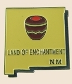 12 Pins - NEW MEXICO , state hat tac lapel pin sp355
