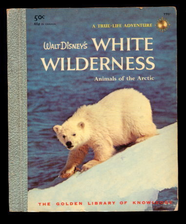 "1958 Walt Disney ""White Wilderness"" A Edition Golden Book"