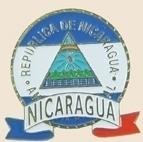 12 Pins - NICARGUA EMBLEM , flag hat lapel pin sp063 Bonanza