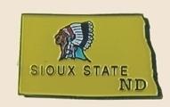 12 Pins - NORTH DAKOTA , state hat lapel pin sp358