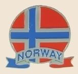 12 Pins - NORWAY EMBLEM , flag hat lapel pin sp068