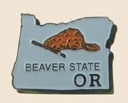 12 Pins - OREGON , state hat tac lapel pin sp361