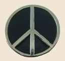 12 Pins - PEACE SIGN SYMBOL , lapel pin sp312