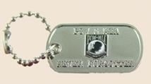 12 Pins - POW MIA NEVER FORGOTTEN , dog tag pin sp429