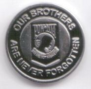 12 Pins - POW MIA OUR BROTHERS NEVER FORGOTTEN pin p477