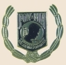 12 Pins - POW MIA you are not gold leaf pin sp381 - $18.00