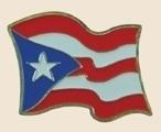 12 Pins - PUERTO RICO , flag lapel hat pin sp020