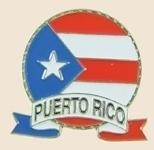 12 Pins - PUERTO RICO EMBLEM , flag hat lapel pin sp051