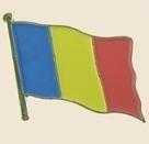 12 Pins - ROMANIA , flag hat lapel badge pin sp253