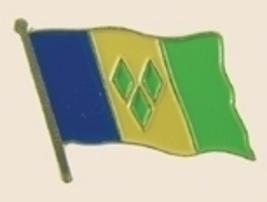 12 Pins - SAINT VINCENT , st flag lapel badge pin sp264 - $18.00