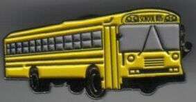 12 Pins - SCHOOL BUS , driver teacher lapel pin sp407