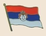 12 Pins - SERBIA , flag hat lapel badge pin sp256