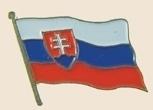 12 Pins - SLOVAK REPUBLIC , flag badge lapel pin sp258