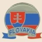12 Pins - SLOVAKIA EMBLEM , flag hat lapel pin sp066