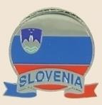 12 Pins - SLOVENIA EMBLEM , flag hat lapel pin sp069
