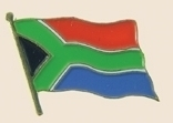 12 Pins - SOUTH AFRICA , flag lapel badge pin sp260