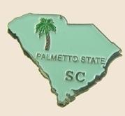 12 Pins - SOUTH CAROLINA , state hat lapel pin sp364