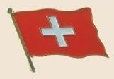 12 Pins - SWITZERLAND swiss flag badge lapel pin sp267
