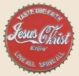 12 Pins - TASTE THE FAITH JESUS CHRIST , pin sp131
