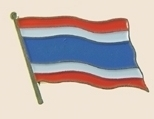 12 Pins - THAILAND , flag hat lapel badge pin sp269