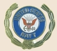 12 Pins - United States Navy Gold Leaf Us Pin sp378 - $18.00