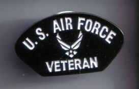 12 Pins - US AIR FORCE VETERAN , usaf pin sp474