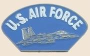 12 Pins - US AIR FORCE w/ PLANE usaf lapel pin sp143