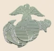 12 Pins - Us Marines Silver Emblem Usmc Lapel Pin sp085 - $18.00