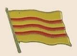 12 Pins - VIETNAM , flag hat lapel badge pin sp278