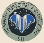 12 Pins - We`ll Never Forget September 11th , pin sp153