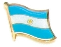 ARGENTINA - Wholesale lot of 12 flag lapel pins ef010 image 1