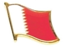 BAHRAIN - Wholesale lot of 12 flag hat lapel pins ef021 Bonanza