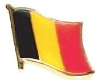 BELGIUM - Wholesale lot 12 flag lapel pins ef027
