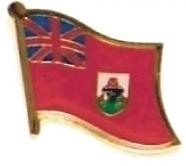 BERMUDA - Wholesale lot of 12 flag hat lapel pins ef030