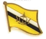 BRUNEI - Wholesale lot of 12 flag hat lapel pins ef039